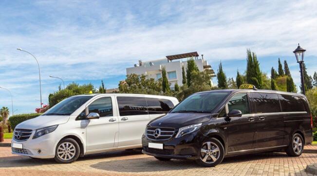 заказать такси минивэны на Кипре