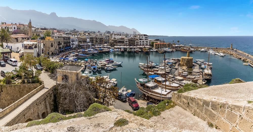 яхты а Кирении на Кипре